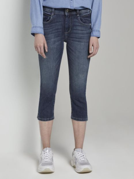 Kate Slim Capri-Jeans