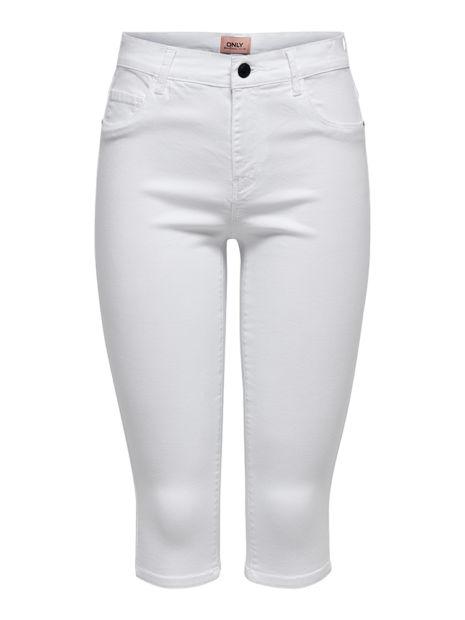 Caprihose – Weiß